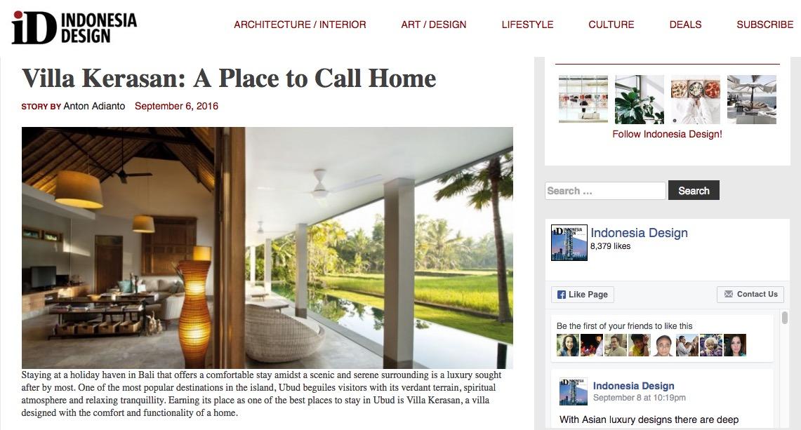 Villa Kerasan: A Place to Call Home | Villa Kerasan Ubud